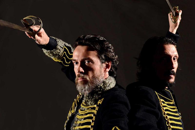 Lunedì  27 febbraio al Teatro Alfieri I DUELLANTI con Alessio Boni e Marcello Prayer